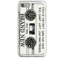 Brand New // Mix Tape iPhone Case/Skin
