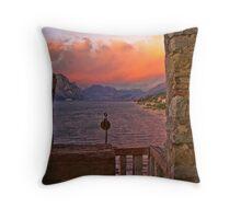 Malcesine / Lake Garda / Italy ~ 16 Throw Pillow