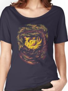 Chocobo with Blossoms Women's Relaxed Fit T-Shirt