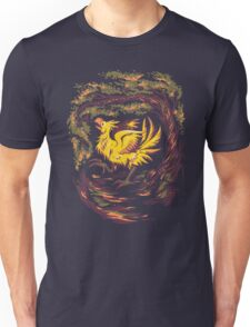 Chocobo with Blossoms Unisex T-Shirt