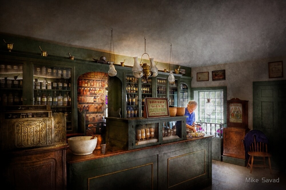 Pharmacy - Morning Preperations by Mike  Savad