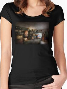 Pharmacy - Morning Preperations Women's Fitted Scoop T-Shirt