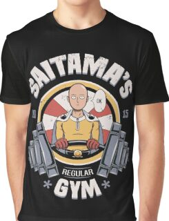 Saitama's Gym Graphic T-Shirt