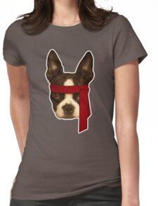 Boston terrier Rambo Womens Fitted T-Shirt