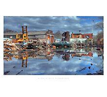 Alvechurch Scrapyard Photographic Print