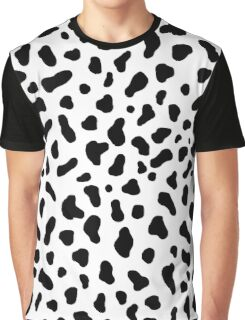 Cow Pattern Graphic T-Shirt
