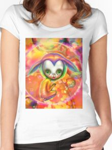 Candy PoP Women's Fitted Scoop T-Shirt