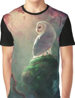 Barn Owl Graphic T-Shirt