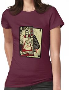 The Omega card Womens Fitted T-Shirt