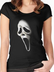 Ghostface Scream Women's Fitted Scoop T-Shirt