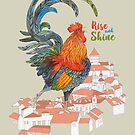 Rooster by Ruta Dumalakaite