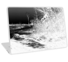 Icy Road Laptop Skin