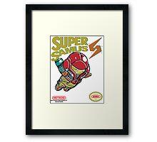 Super Samus Bros Framed Print