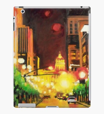 The Streets Run with Crimson and Gold iPad Case/Skin