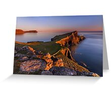 Neist Point. Isle of Skye. Scotland. Greeting Card
