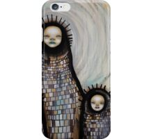 She was a child iPhone Case/Skin