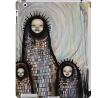 She was a child iPad Case/Skin