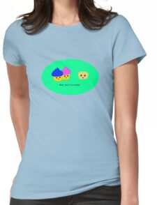 Nudie cupcake Womens Fitted T-Shirt