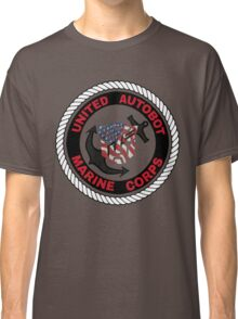 UNITED AUTOBOT MARINE CORPS Classic T-Shirt
