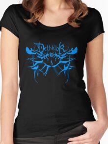 Heavy metal dethklok Women's Fitted Scoop T-Shirt