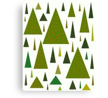 Save the trees for Christmas Canvas Print