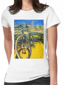 The Surly Bastard in Paris Womens Fitted T-Shirt