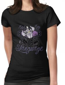 BAD BOY BODY LANGUAGE Womens Fitted T-Shirt