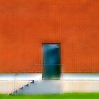 The Blue Door by Angelika  Vogel