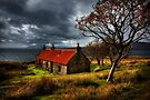 Ruin at Suisinish, Isle of Skye. North West Scotland. by PhotosEcosse