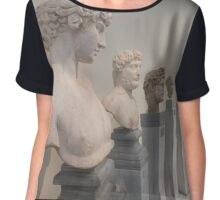 Hellenistic busts Chiffon Top