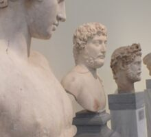Hellenistic busts Sticker