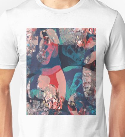 Abstract Marbled Unisex T-Shirt