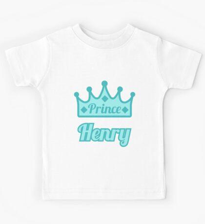 Baby boy aka Prince Henry Kids Tee