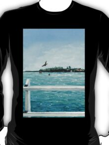 West Cliff Across the Water T-Shirt
