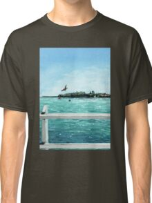 West Cliff Across the Water Classic T-Shirt