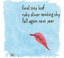 New Year Haiku 2014 by Amy-Elyse Neer