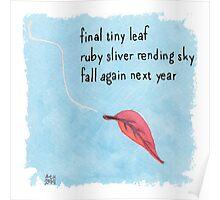 New Year Haiku 2014 Poster