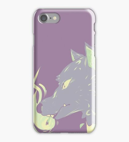 Canis Lupus (Purple Vers.) iPhone Case/Skin