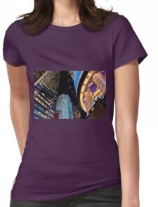 The Abstract Delight Womens Fitted T-Shirt