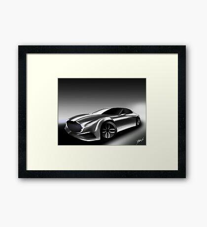 Concept Car Mazda Framed Print