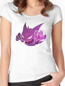 Haunter texture Women's Fitted Scoop T-Shirt