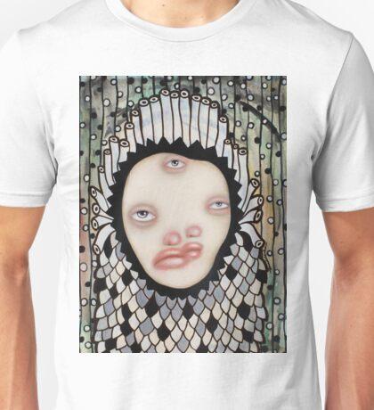 Two, three eyes Unisex T-Shirt
