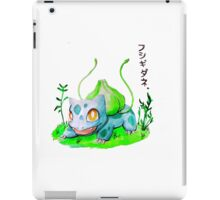 Bulbasaur 001 iPad Case/Skin