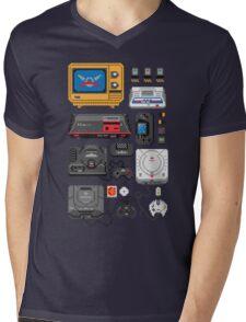 SErvice GAme History Mens V-Neck T-Shirt