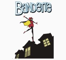 Bandette on the roof Kids Tee