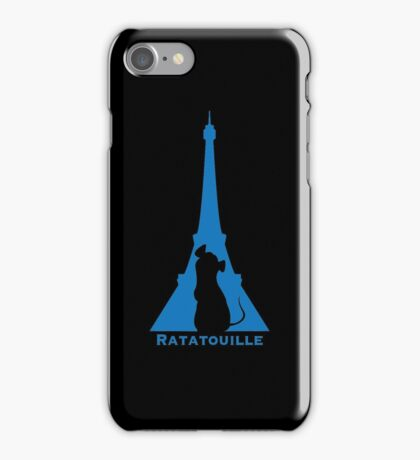 Ratatouille in Eiffel iPhone Case/Skin