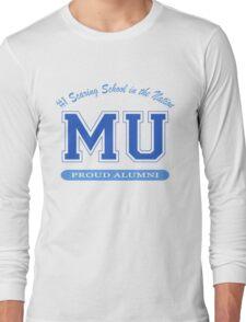 Monsters MU Alumni Design Long Sleeve T-Shirt