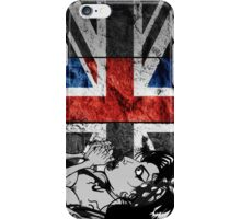 Amy Winehouse Abstract Flag iPhone Case/Skin