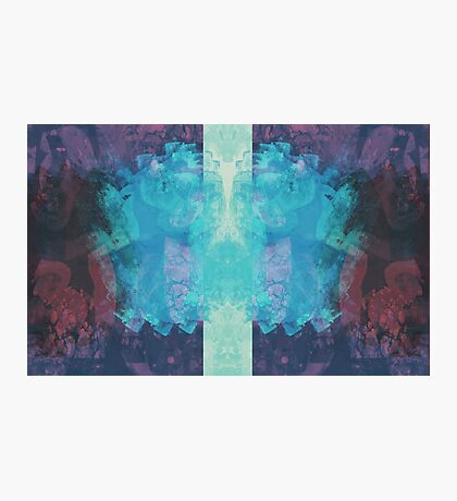 Iced Inverse Abstract Photographic Print