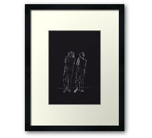 It's like you're my mirror (Larry Stylinson) Framed Print
